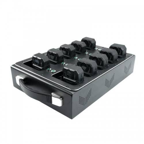 Зарядная станция для носимых видеорегистраторов DS-3-2 с передачей данных на ПК